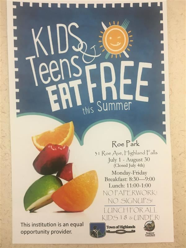 Kids and Teens Eat Free this Summer!!!