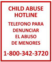 Child Abuse Hotline Information