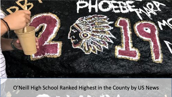 O'Neill High School Ranked Highest in the County by US News