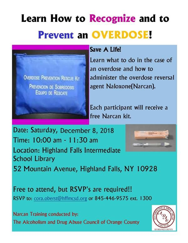 Narcan Training: Learn How to Recognize & Prevent an Overdose